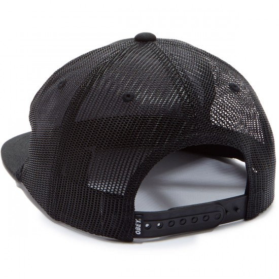 Obey Sheffield Trucker Hat - Black