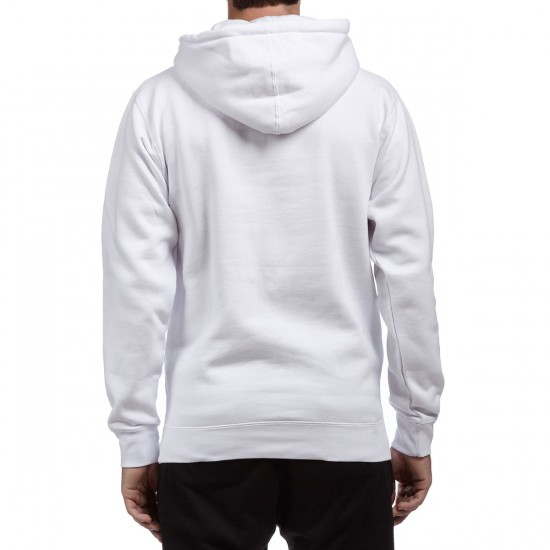 Obey Half Face Hoodie - White