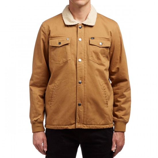 Obey Colton  Jacket - Tobacco Brown