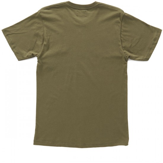 Obey New Times T-Shirt - Army