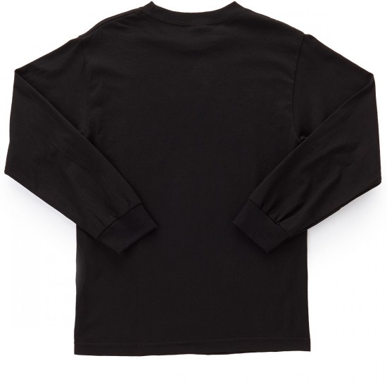 Obey Spark Of Life Long Sleeve T-Shirt - Black