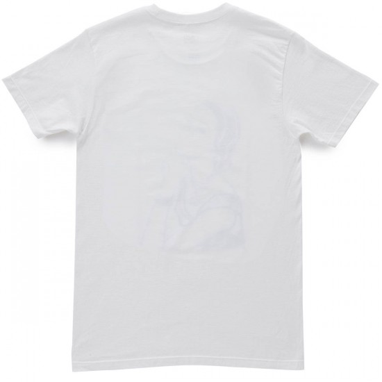 Obey A Message From Our Sponsor T-Shirt - White