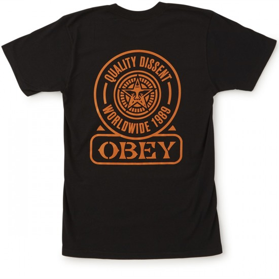 Obey Quality Dissent T-Shirt - Black