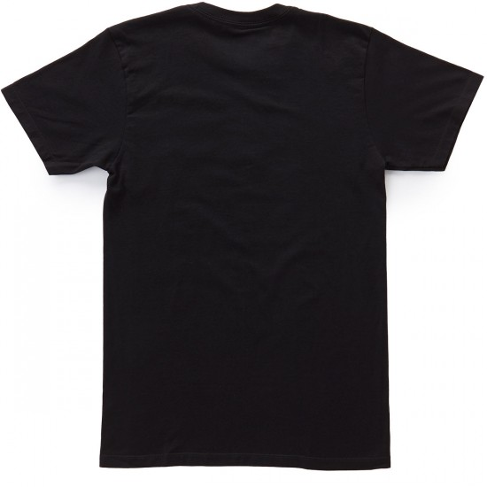 Obey Half Face T-Shirt - Black