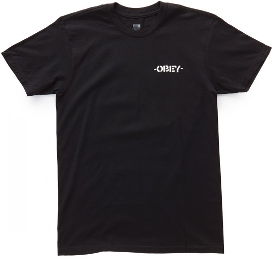 Obey Mother Earth T-Shirt - Black