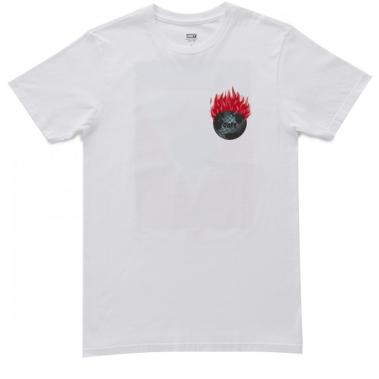 Obey 350. Org Awareness T-Shirt - White