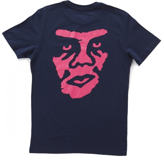 Obey The Creeper Pocket T-Shirt - Navy