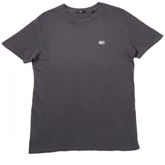 Obey New Times Micro T-Shirt - Black