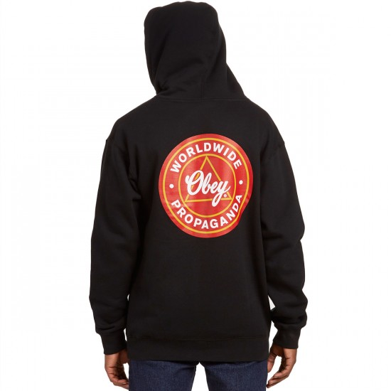 Obey Worldwide Propaganda Sweatshirt - Black