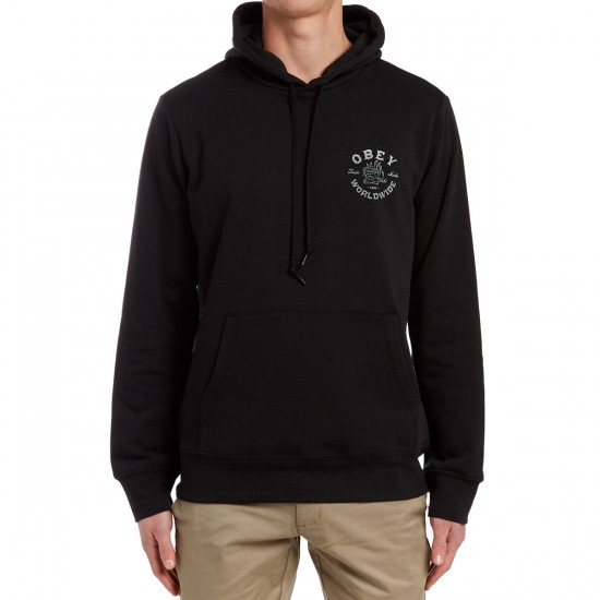 Obey Fresh Off The Press Hoodie - Black