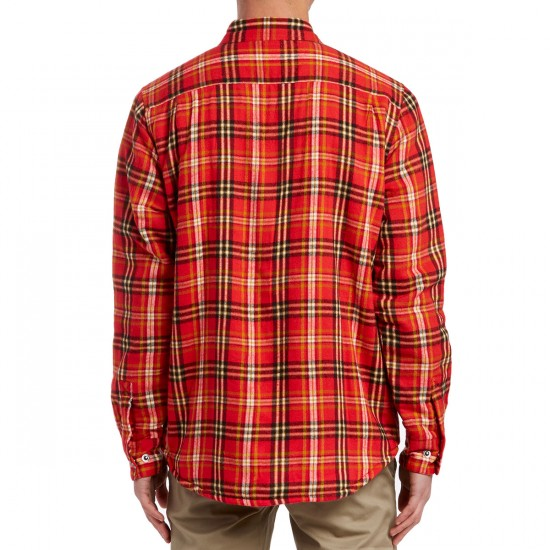 Obey Liam Jacket - Red Multi