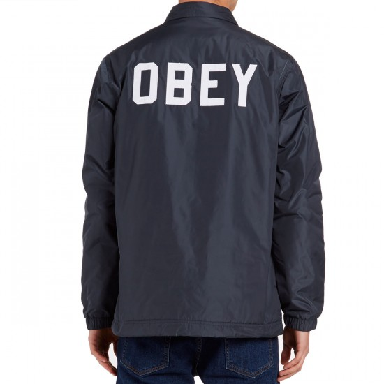 Obey Sanders Jacket - Dusty Navy