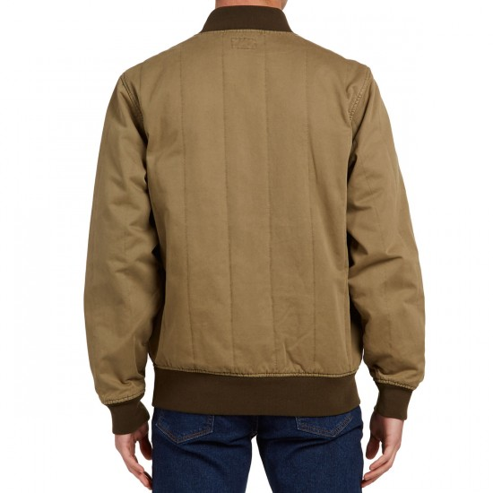 Obey The Linesman Jacket - Army