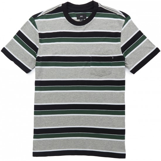 Obey Berkeley Pocket T-Shirt - Black Multi