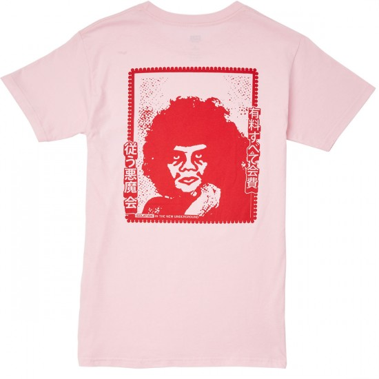 Obey Isolation T-Shirt - Pink