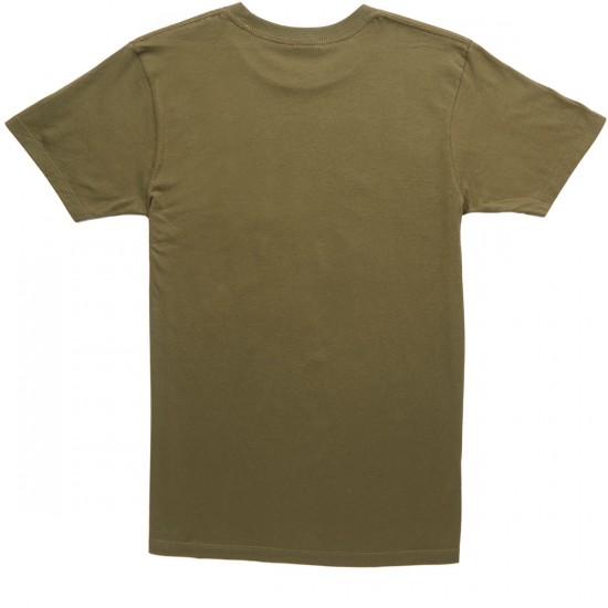 Obey Gimme Danger T-Shirt - Military Olive
