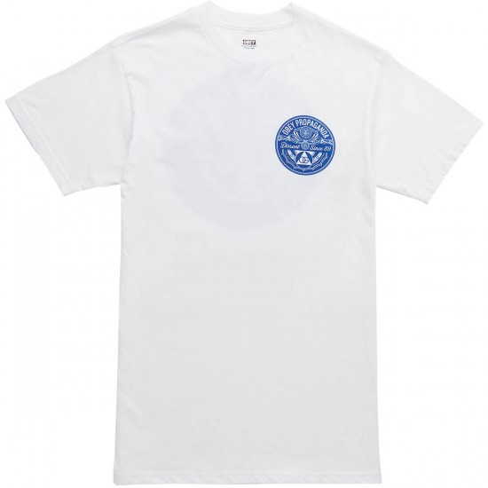 Obey Pyramid of Dissent T-Shirt - White