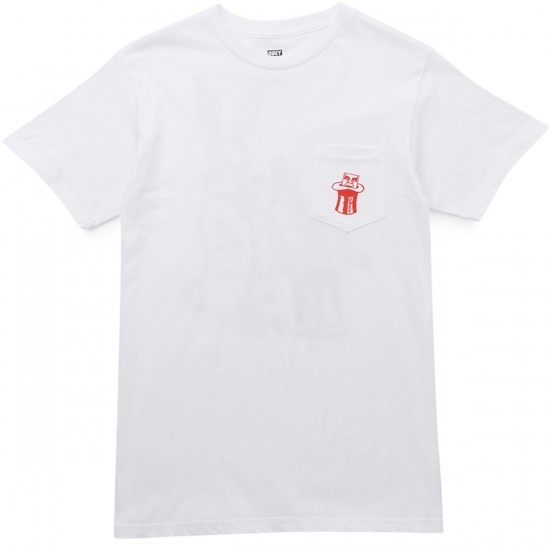 Obey Magic Hat T-Shirt - White