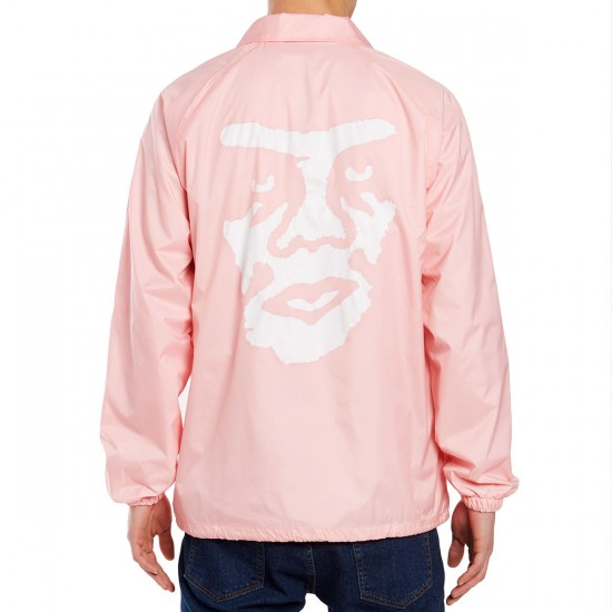 Obey The Creeper Jacket - Pink