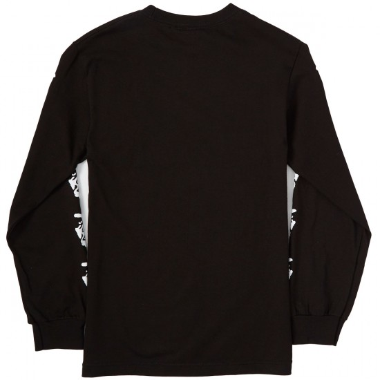 Obey The Creeper Long Sleeve T-Shirt - Black