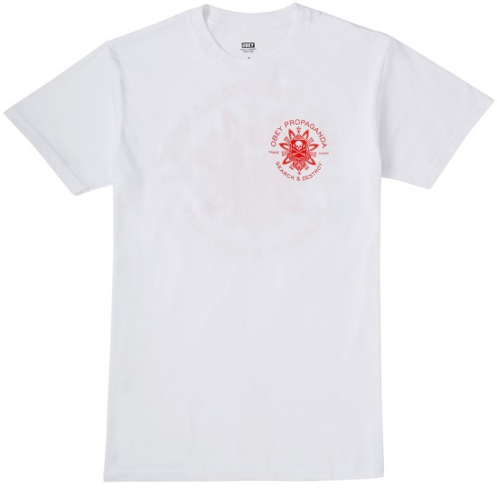 Obey Think and Create T-Shirt - White