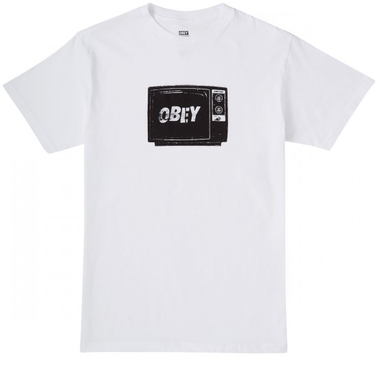 Obey What To Think T-Shirt - White