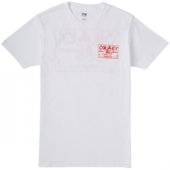 Obey Exotic Narcotic T-Shirt - White