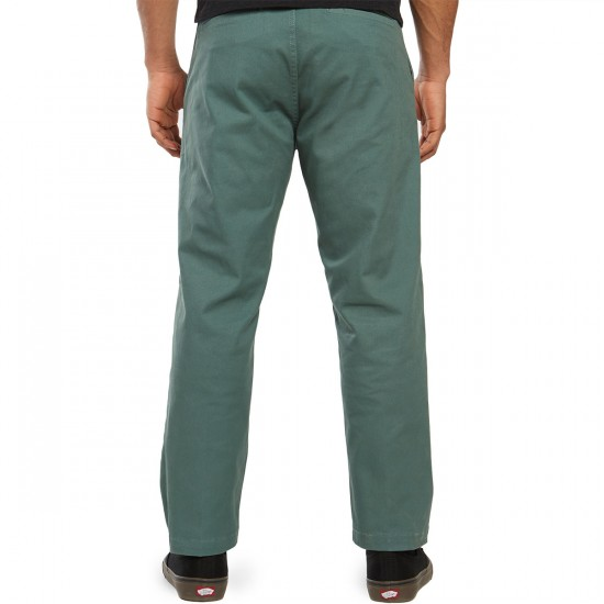 Obey Straggler Flooded Pants - Work Green - 30 - 32