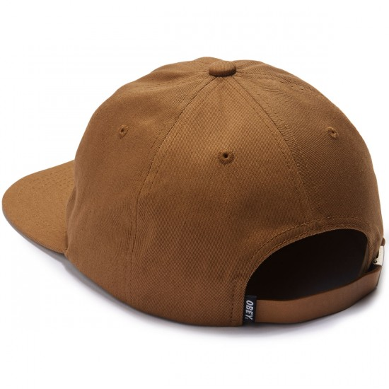 Obey Bunt II Hat - Bone Brown