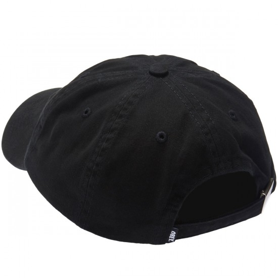 Obey Burlesque 6 Panel Hat - Black