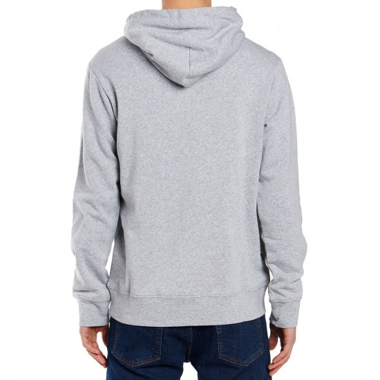 Obey Lofty Chain Stitch Hoodie - Athletic Heather Grey