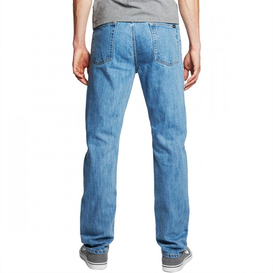 Obey New Threat II Jeans - Light Indigo - 30 - 32