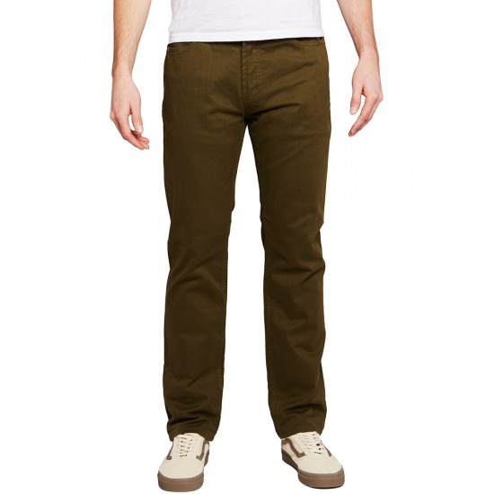 Obey New Threat Twill Pants - Army - 30 - 32