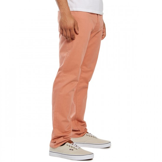 Obey New Threat III Twill Pants - Rose - 30 - 32