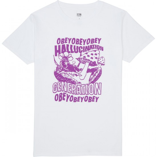 Obey Generation T-Shirt - White