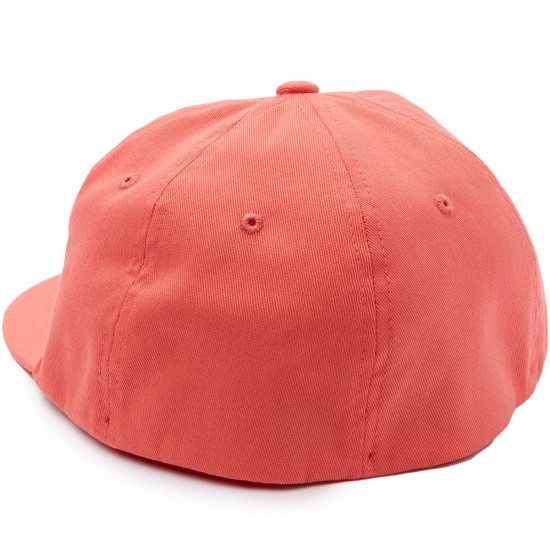 Obey Franklin Flexfit Hat - Coral