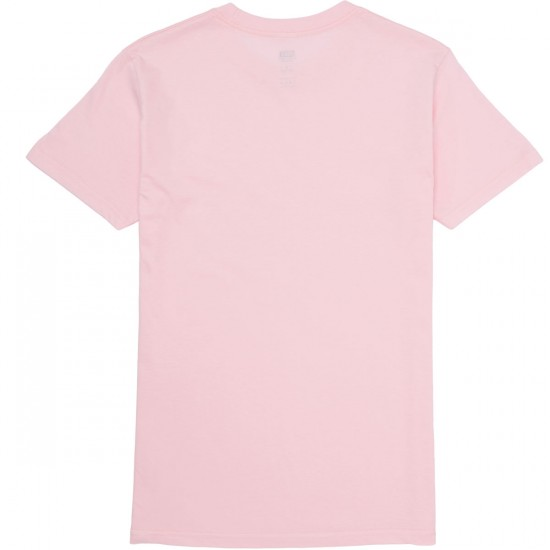 Obey Half Face T-Shirt - Pink