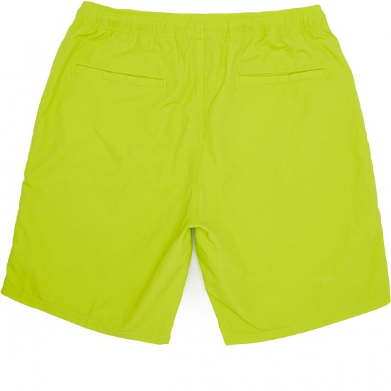 Obey Dolo Shorts - Neon Green