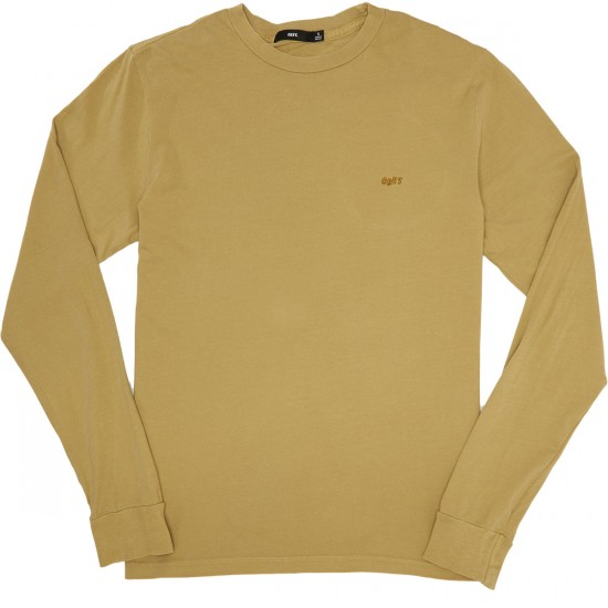 Obey Jumbled Pigment Longsleeve T-Shirt - Dusty Willow