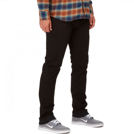 Vans V16 Slim Pants - Overdye Black - 36 - 32