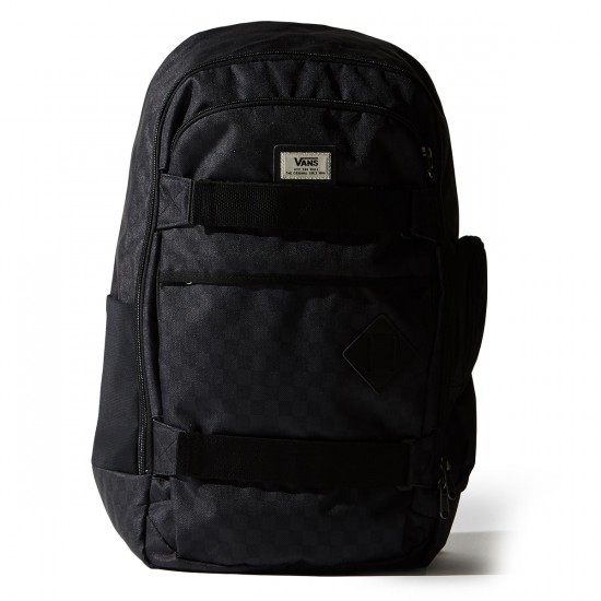 Vans Transient III Skatepack Backpack - Black/Charcoal