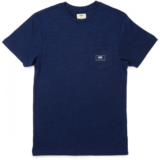 Vans Descanso Pocket T-Shirt - Indigo