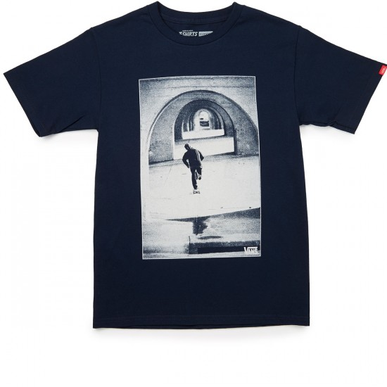 Vans Tunneled Vision T-Shirt - Navy