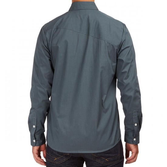 Volcom Everett Solid Long Sleeve Shirt - Putty