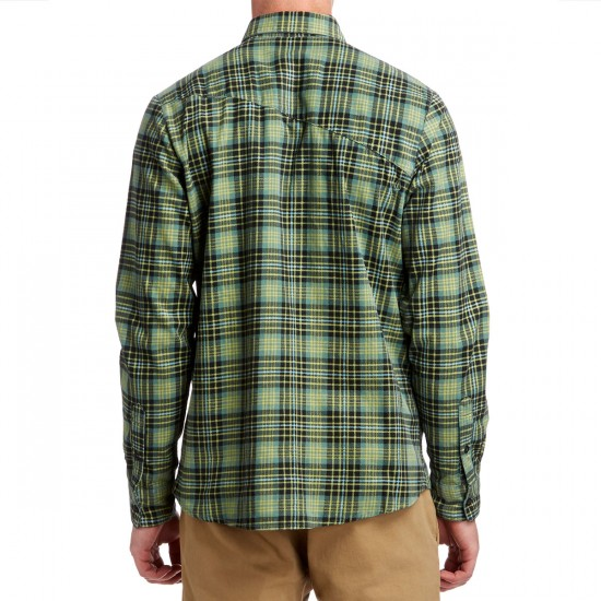 Volcom Kanther Long Sleeve Shirt - Sage