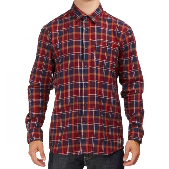 Volcom X Anti Hero Flannel Shirt - Plum