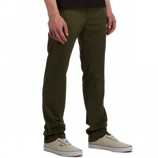 Volcom Frickin Modern Stretch Pants - Military - 38 - 32