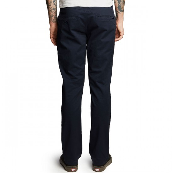Volcom Frickin Slim Chino Pants - Navy - 28 - 32