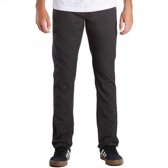 Volcom Gritter Modern Tapered Chino Pants - Stealth - 30 - 32