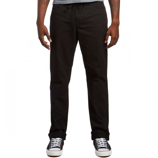 Volcom VSM Gritter Regular Chino Pants - Black - 36 - 32